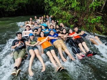 โครงการ สร้างฝาย ณ อุทยานแห่งชาติภูจองนายอย เดินเล่น เก็บขยะ 3 กม. และ ศึกษา มหัศจรรย์ธรรมชาติ แกรนด์แคนยอนเมืองไทย ที่ สามพันโบก