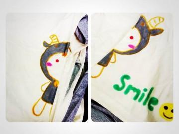 อาสาเขียนศิลป์บนเสื้อเพื่อผู้ป่วยเรื้อรัง 12 มิย. T-Shirt Painting for chronic patients