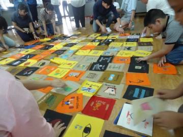 สร้างสื่อการเรียนรู้บนผืนผ้า18 ก.ย. Volunteer to Create Learning Material in Thailand