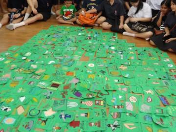 อาสาสร้างสื่อการเรียนรู้บนผืนผ้า Volunteer to Create Learning Material