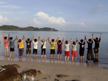 ค่ายร่วมกิจกรรมกับนักศึกษาจากฮ่องกงและมาเก๊า