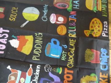 อาสาสร้างสื่อการเรียนรู้บนผืนผ้า 23 ก.ค.  Volunteer to Create Learning Material