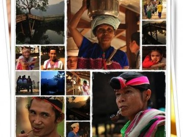 อาสาสอนเด็กนักเรียนบ้านเลตองคุ เรียนรู้วัฒนธรรมแห่งแม่น้ำสุริยะ