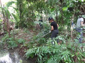 ปรับปรุงพื้นที่ป่าเพาะกล้าไม้ในกรุง (4)  10 ก.ย. Plantation and gardening volunteer