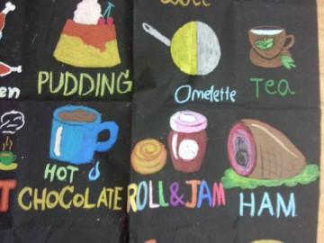 อาสาสร้างสื่อการเรียนรู้บนผืนผ้า 24 ก.พ.  Volunteer to Create Learning Material