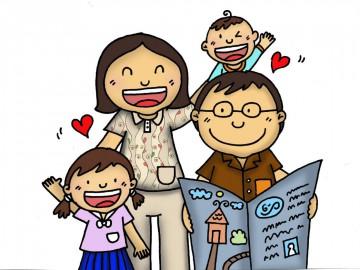 อาสาวาดการ์ตูนไปใช้บนแพลตฟอร์มเพื่อการเลี้ยงดูลูก (วัยเด็กเป็นช่วงเวลาสำคัญ)