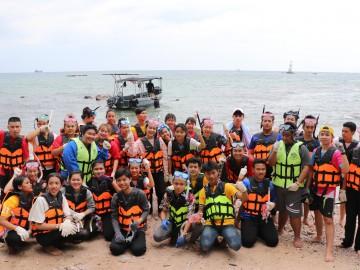 รุ่น 10 ปี 62  วันอาทิตย์ที่  24 พฤษจิกายน 62  รับ อาสาฟื้นฟูระบบนิเวศ ชายฝั่ง (ปลูกปะการังชายฝั่ง)  โครงการอาสาฟื้นฟูระบบนิเวศชายฝั่ง คืนความอุดมสมบูรณ์ ให้ ทะเลไทย