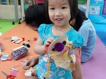 อาสาสมัคร ตุ๊กตาหุ่นมือ 24 พย. Volunteer Producing Hand Puppet Dolls for Learning Kits Nov.24, 19